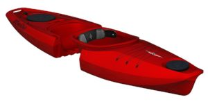 Point 65 N Martini GTX Solo Modular Kayak-Red