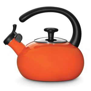 Rachael Ray Teakettles 1-12-Quart Whistling, Orange