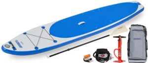 Sea Eagle LB126 6 LongBoard SUP Electric Pump Package