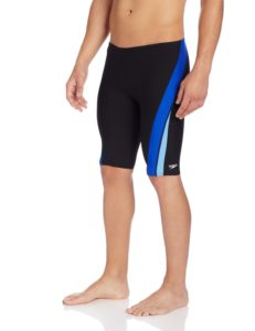 Speedo Men's Endurance+ Launch Splice Jammer Swimsuit