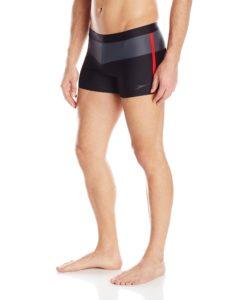 Speedo Men's Xtra Life Lycra Long Bay Square Leg Swimsuit