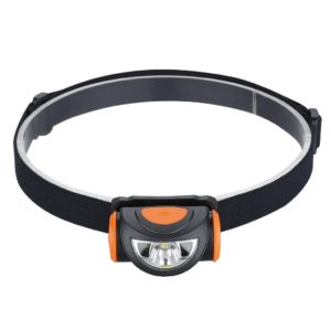 Suaoki LED Headlamp Lightweight 2.1oz Headlight Water Resistant with 2 Flood and 1 Spot led LowHighStrobe Brightness Rechargerable Battery Powered for Running Hiking Cycling Fishing etc