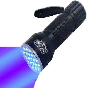 UV Flashlight-Brightest Black Light 21-LED Pet Urine Detector