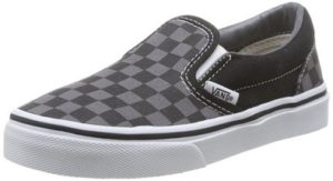 Vans Kids Classic Slip-On (Checkerboard) Skate Shoe