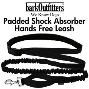 barkOutfitters Hands Free Dog Jogging Running Hiking Walking Leash - Run Hands-Free with this Sporty Adjustable Belt