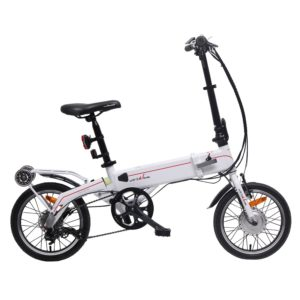 unYOUsual U synergy 16 Electric Folding Bike Bicycle Samsung Lithium-Ion Battery 24V 250W SHIMANO Nexus 3 Gear