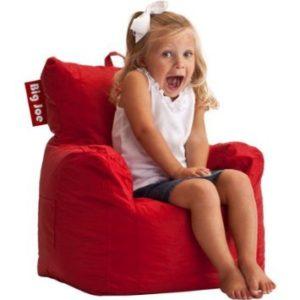 Big Joe Cuddle Bean Bag Chair, Flaming Red