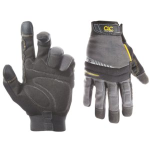 Custom Leathercraft 125M Handyman Flex Grip Work Gloves, Medium