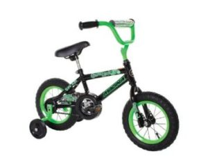 Dynacraft Magna Gravel Blaster Boy's Bike (12-Inch, GreenBlack)