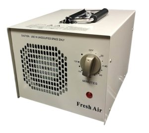 Fresh Air Commercial Air Purifier Ozone Generator UV Sterilizer 4,000mg hr 4g Cleaner Deodorizer UVC