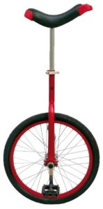 Fun Red 20 Unicycle with Alloy Rim