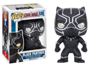 Funko POP Marvel Captain America 3 Civil War Action Figure - Black Panther