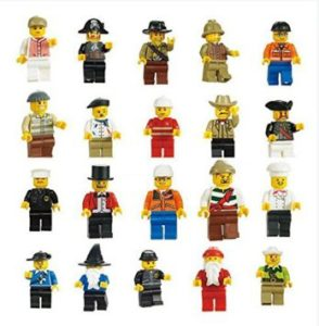 Generic Men People Minifigures Toy (Lot of 20)