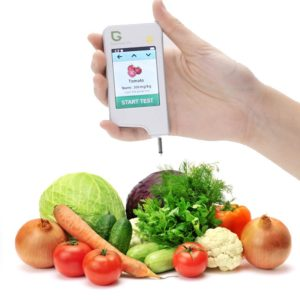 Greentest, High Accuracy Radiation Detector ,Personal Geiger Counter Nitrate Tester Combo for Fruit and Vegetable White
