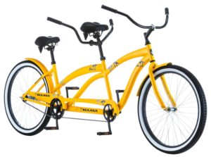 Kulana Lua Single Speed Tandem, Yellow, 17Medium