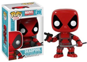 POP Marvel Deadpool Vinyl Bobble-head Figure