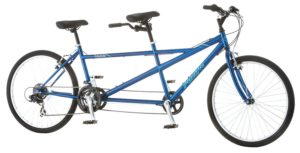 Pacific Dualie Tandem Bicycle with 26 Wheels, Blue, 16One Size