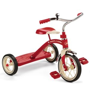 Radio Flyer Classic Red Tricycle, 10-Inch
