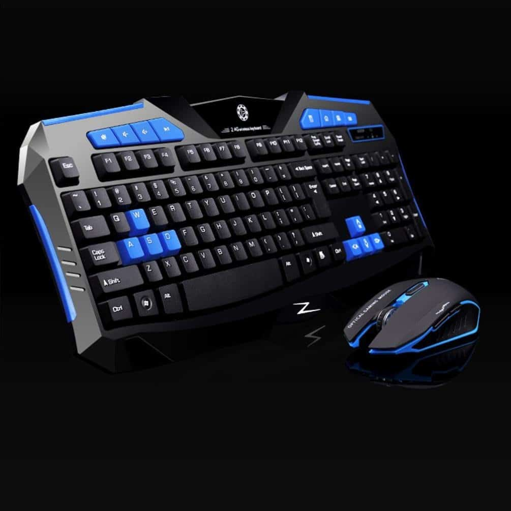 best wireless gaming mouse and keyboard