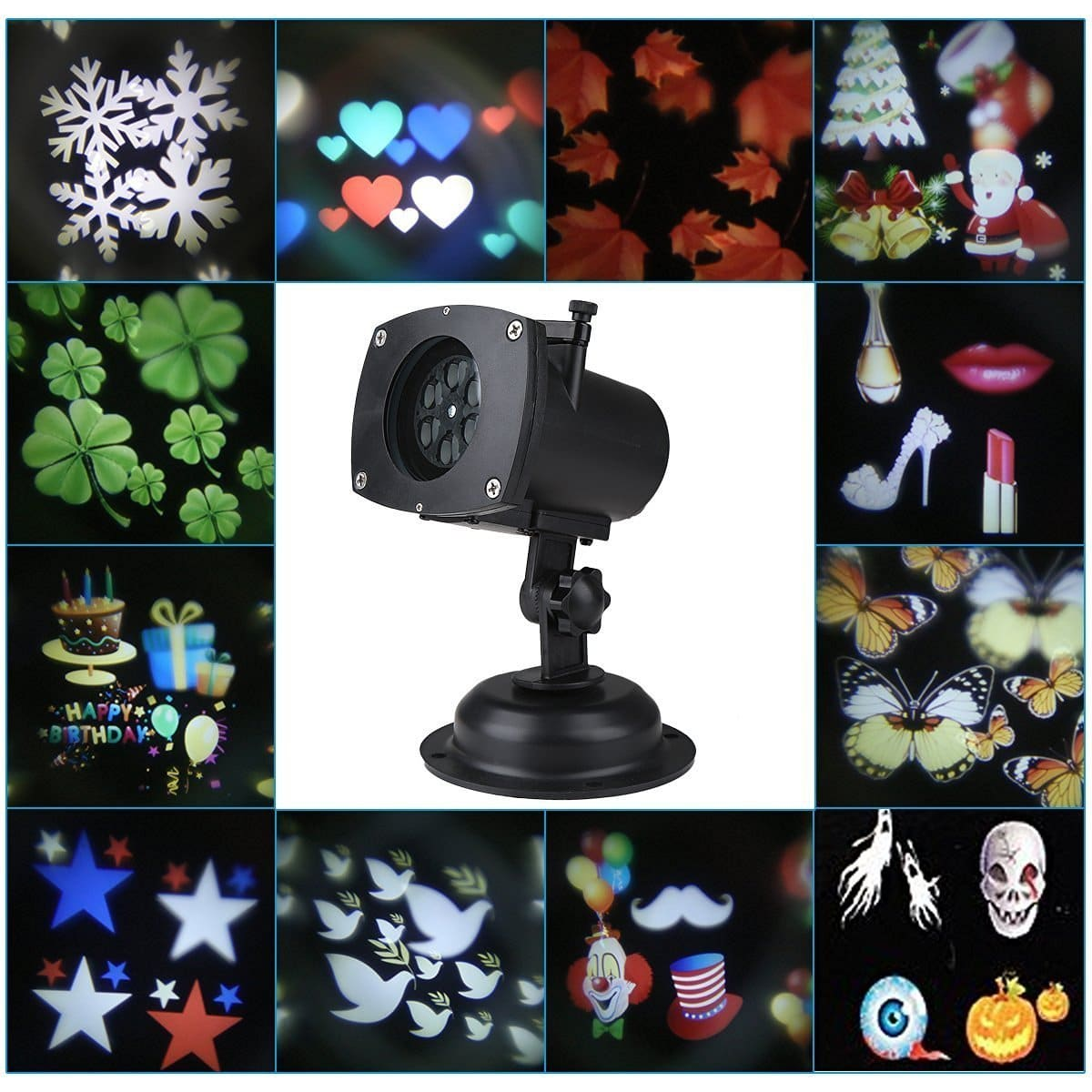 waterproof projection spotlight from party in holiday light garden projector item led wedding lighting christmas outdoor landscape snowflake decoration lights
