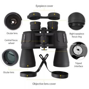 SkyGenius 10 x 50 Powerful Binoculars - Powerful binocular for bird catching