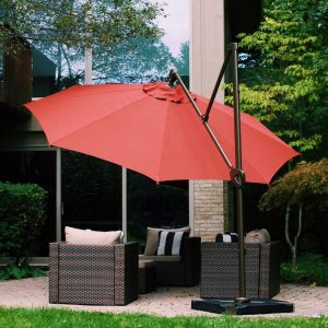 Next Up On Our List Of The Top 3 Best Offset Umbrellas Is That Of The Abba  11u2032 Offset Hanging Cantilever Patio Umbrella. This Quality Built Umbrella  Will ...