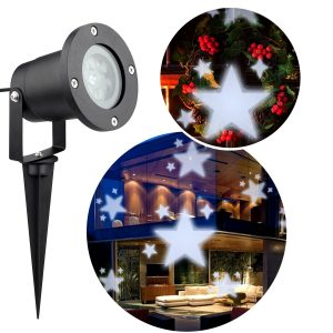 Christmas Projector Lights Outdoor By AOWIN U2013 Best White Color Light  Christmas Laser Projector