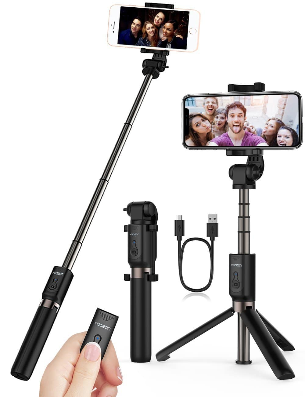 top 10 best iphone x selfie sticks 2017 review. Black Bedroom Furniture Sets. Home Design Ideas