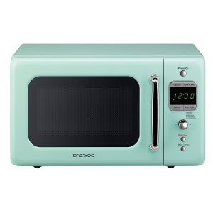 Daewoo KOR-7LREM Retro Microwave Oven - very compact microwave