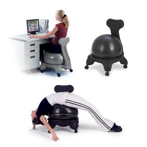 Top 10 best balance ball chair for tall person in 2018 review