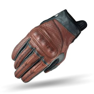 SHIMA Caliber Mens Vintage Leather Motorcycle Gloves