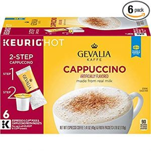 Gevalia Froth Packets Cappuccino Coffee