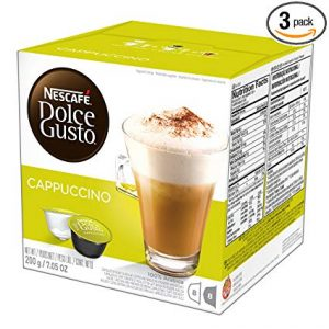 Nescafe 16-Count Dolce Gusto Cappuccino Coffee