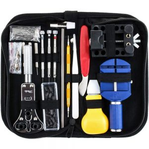 Vastar 147 PCS Watch Repair Kit Professional Spring Bar Tool Set, Watch Band Link Pin Tool Set with Carrying Case