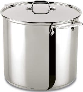 Top 5 best stainless steel stock pots commercial in 2021 review 1