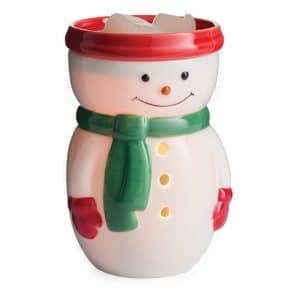 Candle Warmers Etc. Midsize Illumination Fragrance Warmer - Snowman Midsize