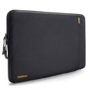 tomtoc 360° Protective Laptop Sleeve Compatible with 12.3 inch Microsoft Surface Pro6 54 3 and 11.6 inch MacBook Air, Ultrabook Notebook Tablet Shockproof Bag with Accessory Pocket