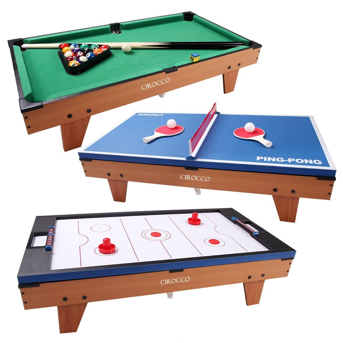 Outdoor Convertible Pool Table