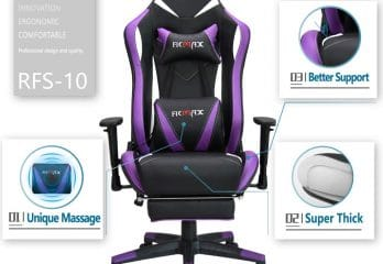 Superb Top 5 Best Purple Gaming Chairs In 2019 Review Customarchery Wood Chair Design Ideas Customarcherynet