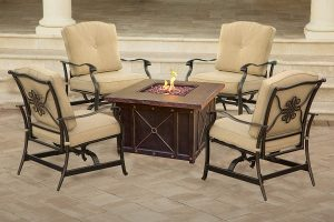 Top 5 best fire table patio set in 2019 review 5