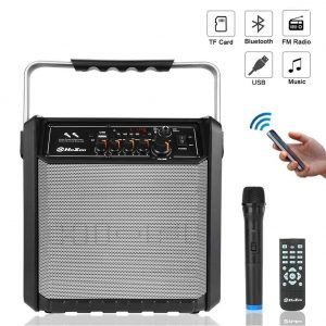Top 5 best Bluetooth microphones and speaker set in 2019 review 9