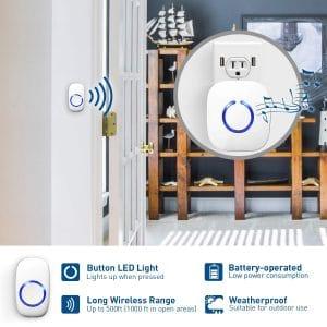 Top 5 Best Cordless Doorbells for Long Range In 2019 Reviews 3