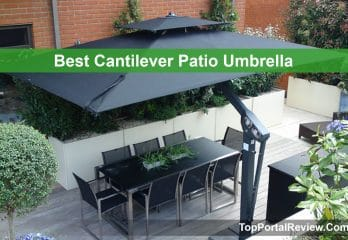 Top 10 Best Cantilever Patio Umbrellas – Review & Buyer's Guidelines