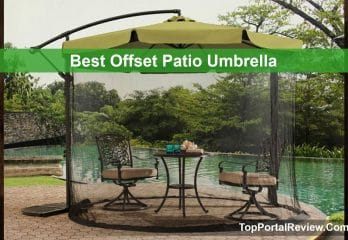 Top 3 Best Offset Patio Umbrellas Buying Guides