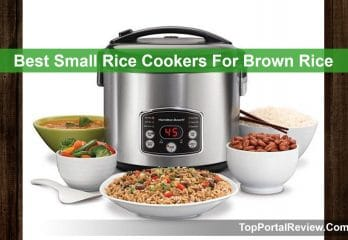 Top 10 Best Small Rice Cookers For Brown Rice In 2020 Reviews
