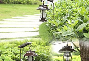 Top 5 Best Solar Mosquito Zapper Traps In 2020 Reviews
