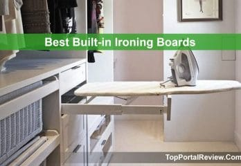 Top 5 Best Built-in Ironing Boards in 2019 Review