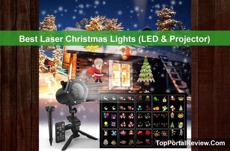 Below are top 10 the best laser Christmas light ( protector & LED) that brought joy and beauty to your decoration for the end of 2019 with the guideline.