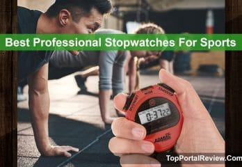 Top 5 Best Professional Stopwatches For Sports in 2019 Reviews