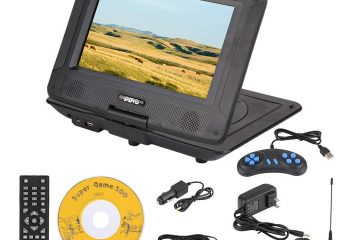 Top 5 Best Portable DVD Player With Built-in Games In 2020 Review